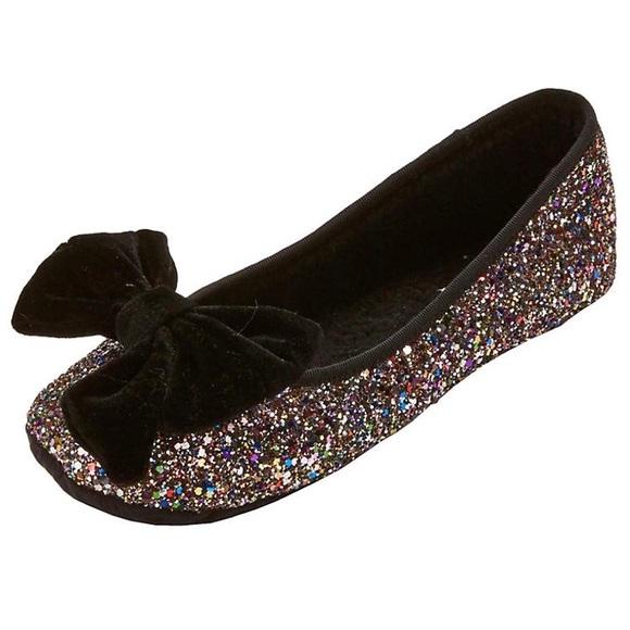 7a47c19a082b Kate Spade Sussex Glitter Ballet Flats